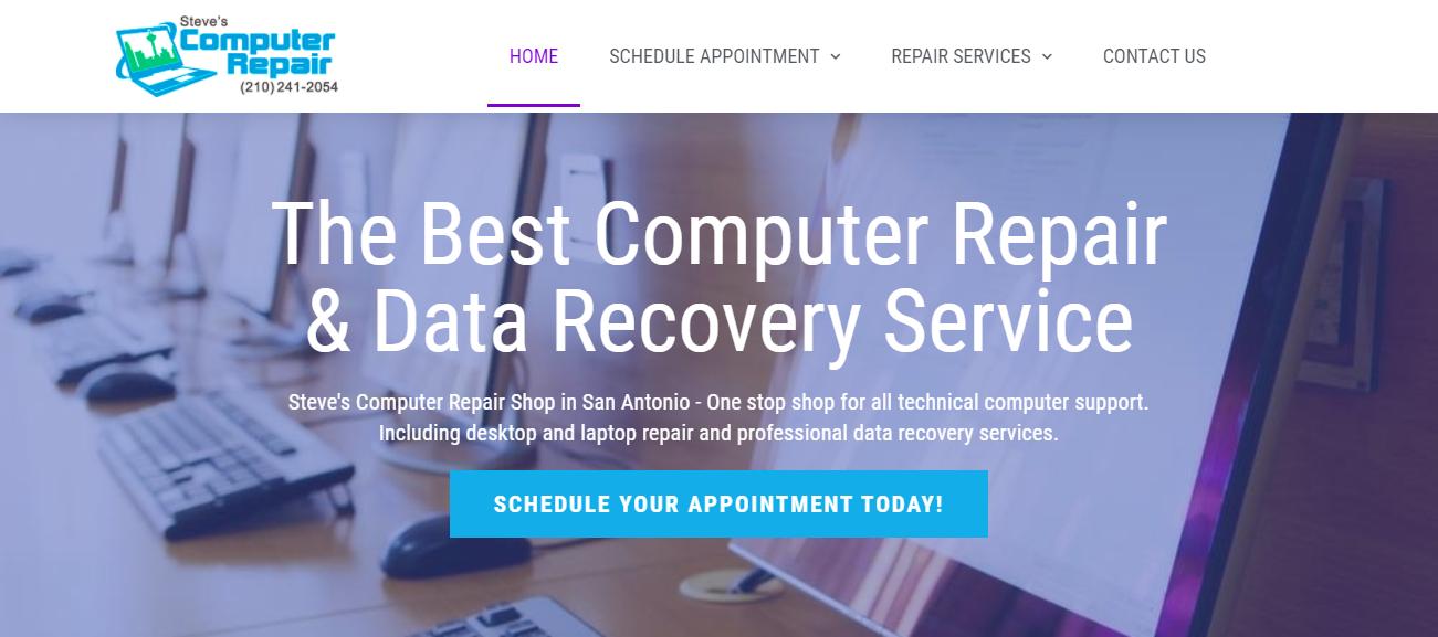 Steve's Computer Repair Shop in San Antonio, TX