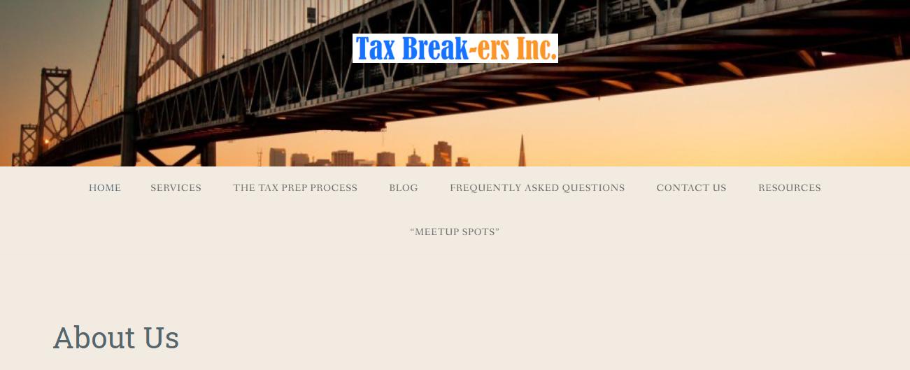 Tax Break-ers in San Francisco, CA