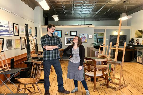 Art Class in Milwaukee
