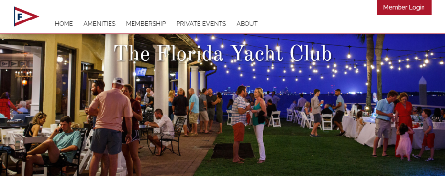 The Florida Yacht Club in Jacksonville, FL