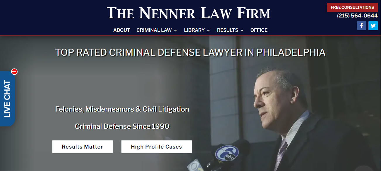 The Nenner Law Firm in Philadelphia, PA