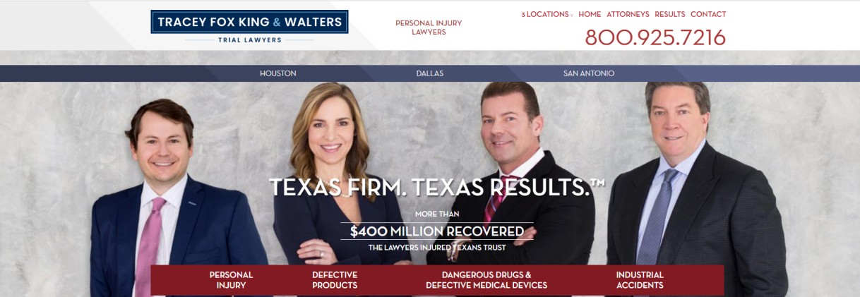 Tracey Fox King and Walters