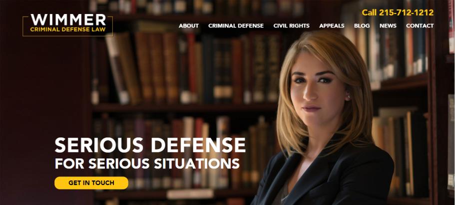 Wimmer Criminal Defense in Philadelphia, PA