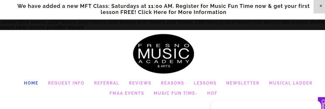 Fresno Music Academy and Arts
