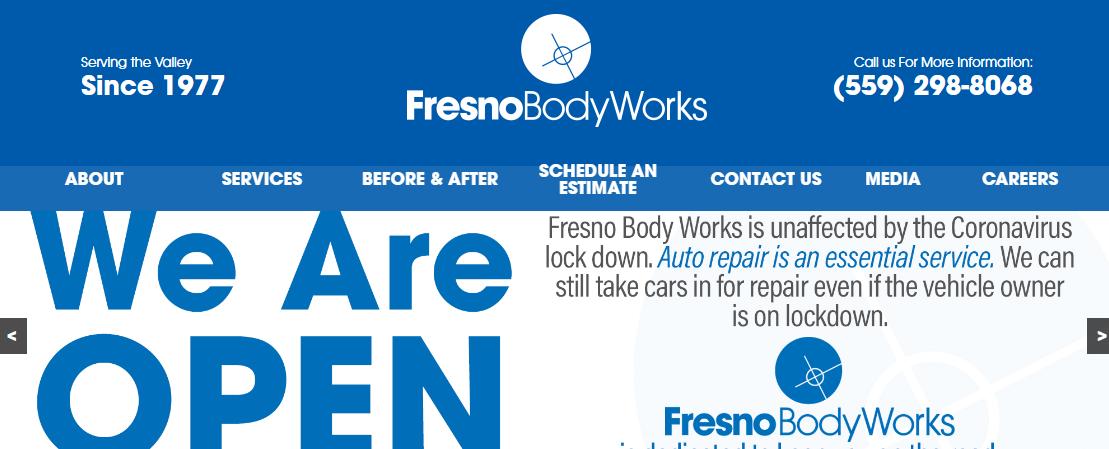 Fix Auto Fresno Body Works North