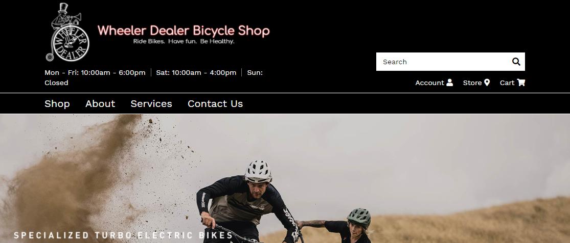 Wheeler Dealer Bicycle Shop