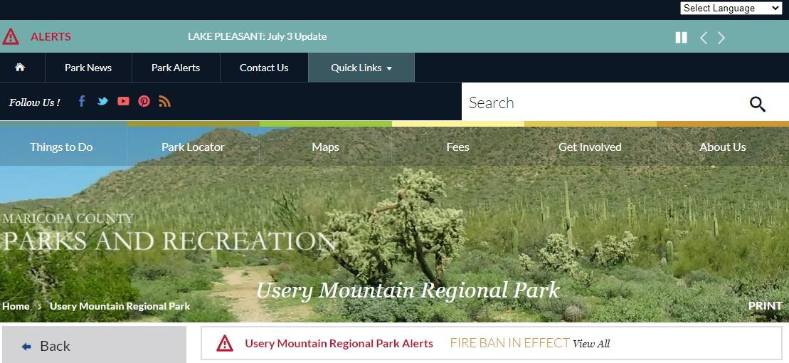 Usery Mountain Regional Park