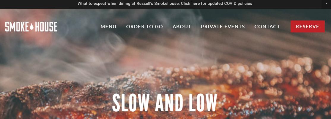 Russell's Smokehouse- BBQ Restaurant