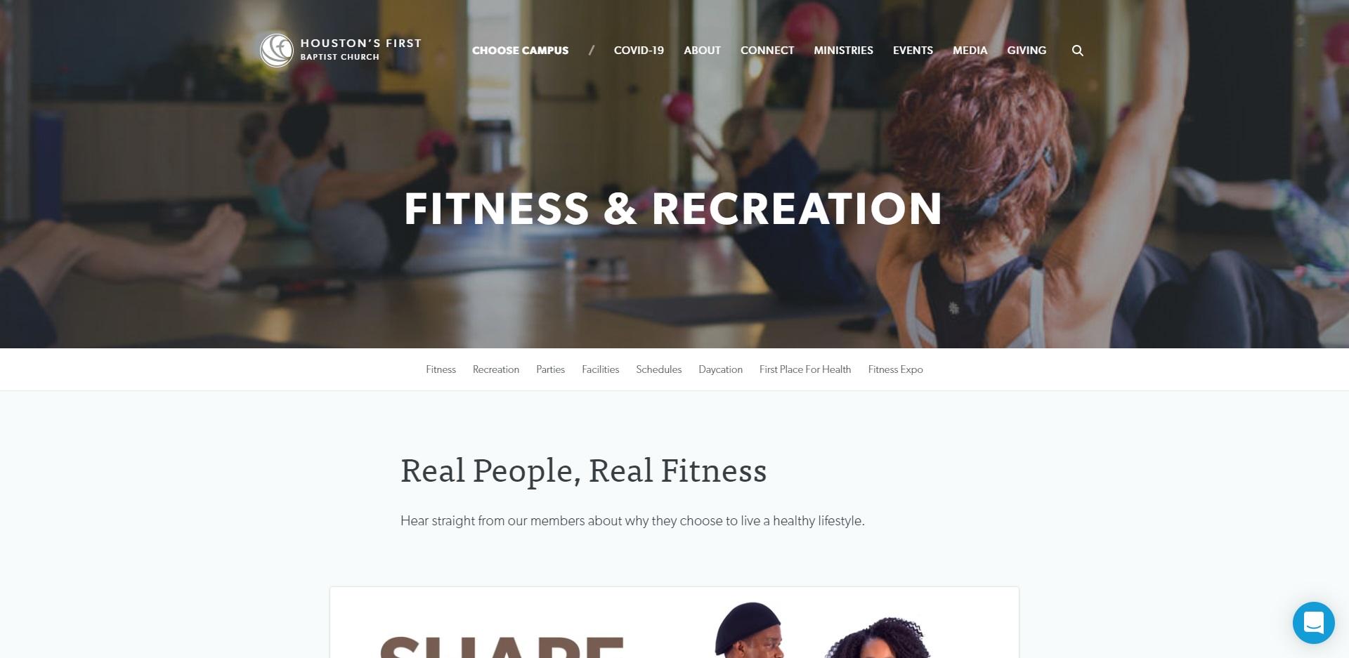 Houston, TX Best Leisure Centres