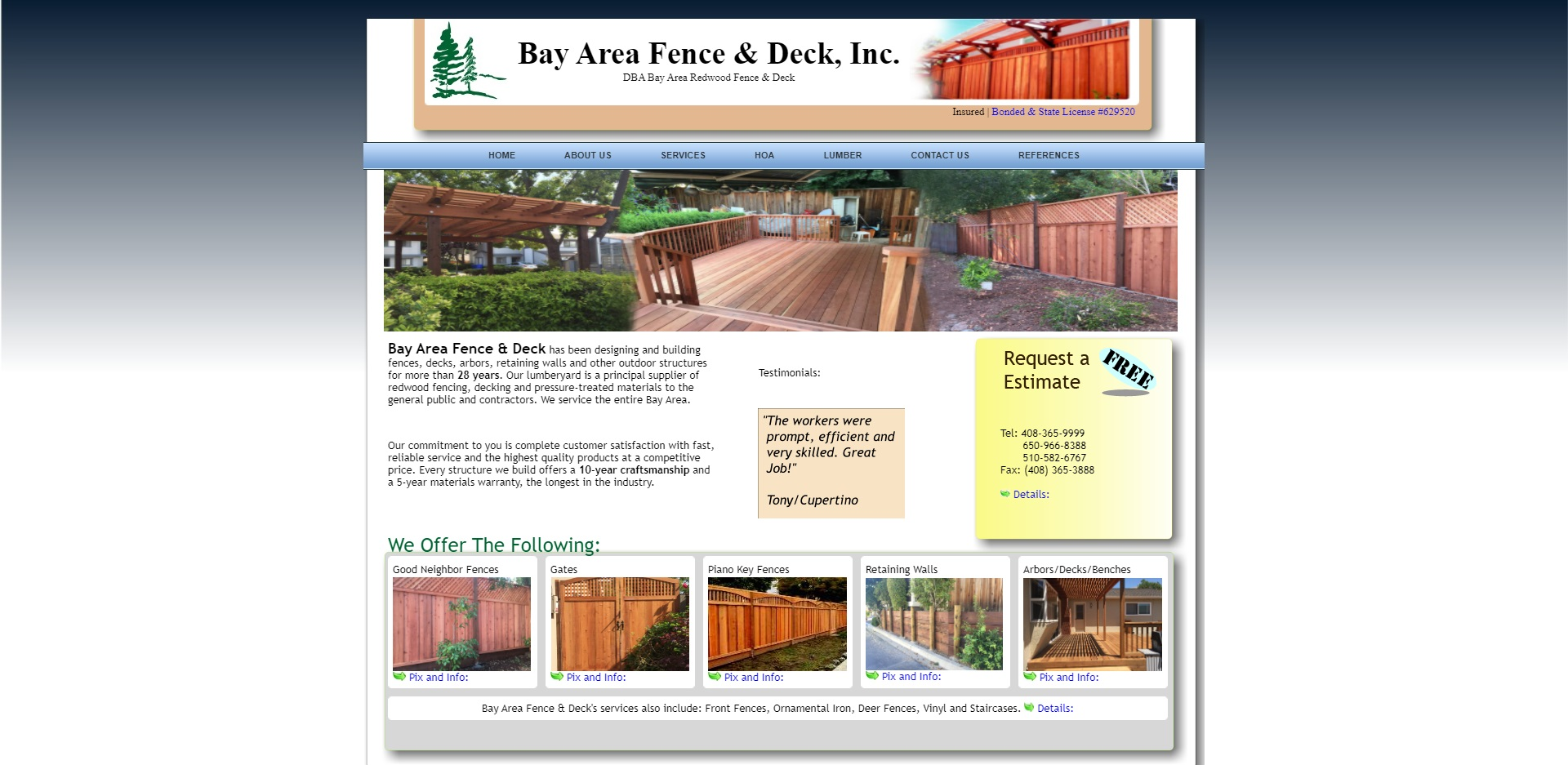 San Jose, CA Best Fencing Contractors