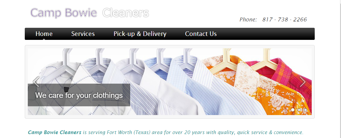 Camp Bowie Cleaners