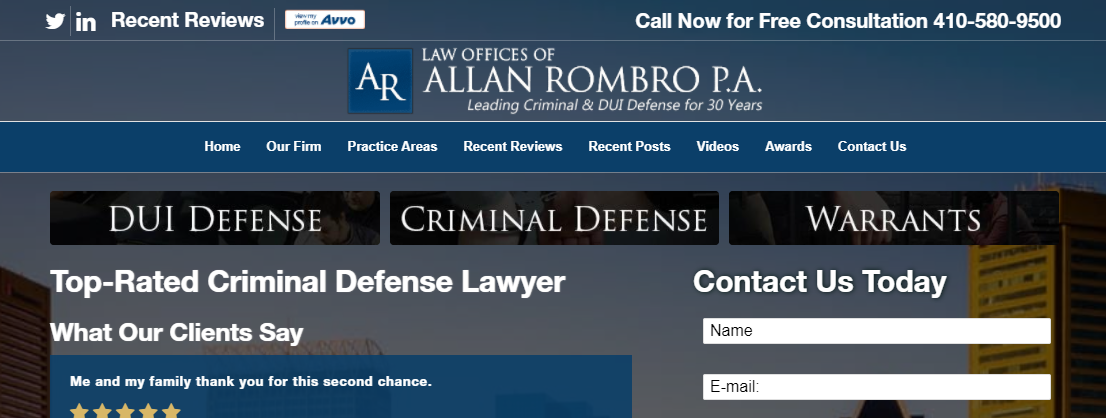 Law Offices of Allan Rombro, PA