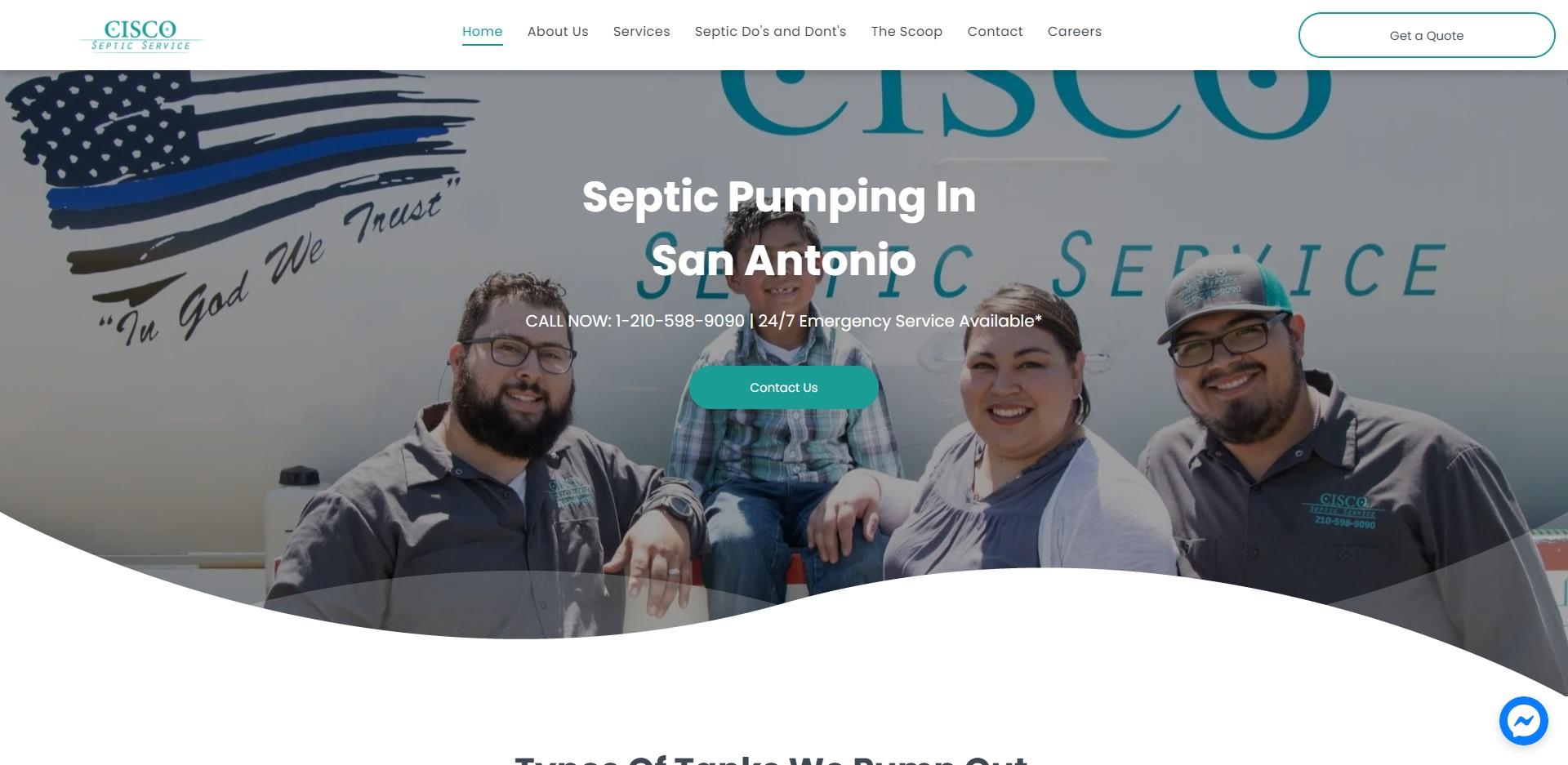 San Antonio, TX Best Septic Tank Services