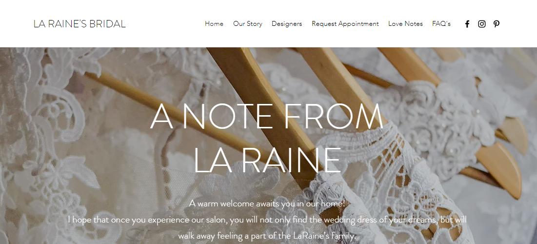 La Raine's Bridal Boutique