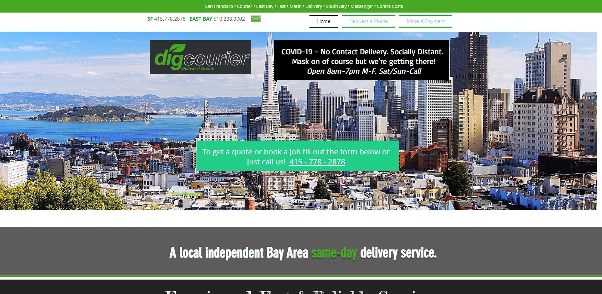 San Francisco, CA's Best Courier Services