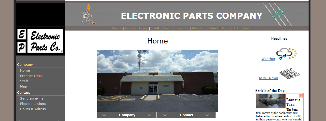 Electronic Parts Co