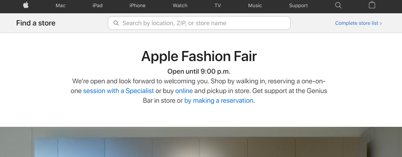 Apple Fashion Fair Electronics in Fresno, CA