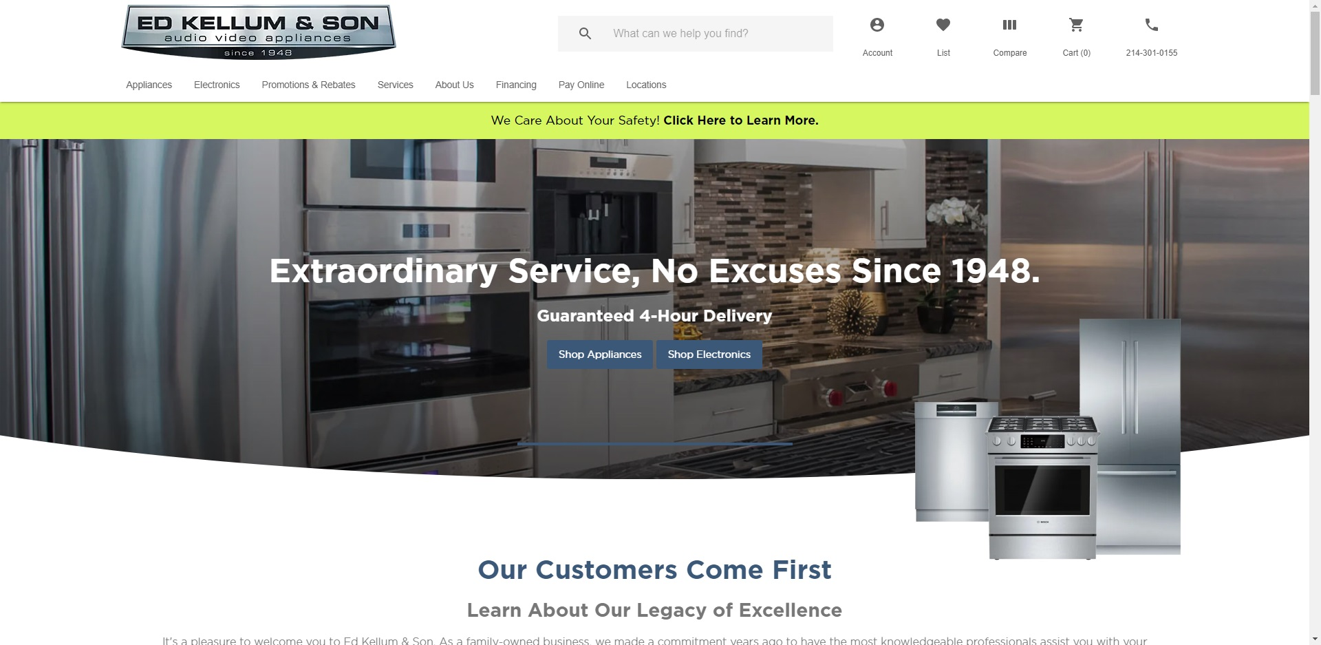 The Best Whitegoods Stores in Dallas, TX