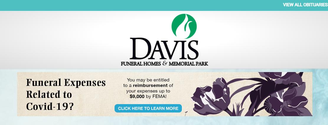 Davis Funeral Homes and Memorial Park
