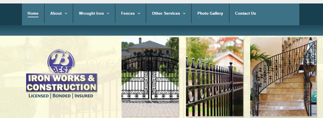 Best Iron Works and Fences
