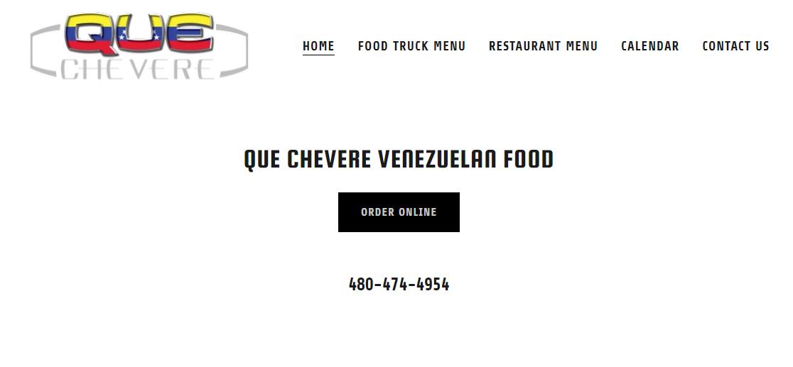 Que Chevere Food Trucks in Mesa, AZ
