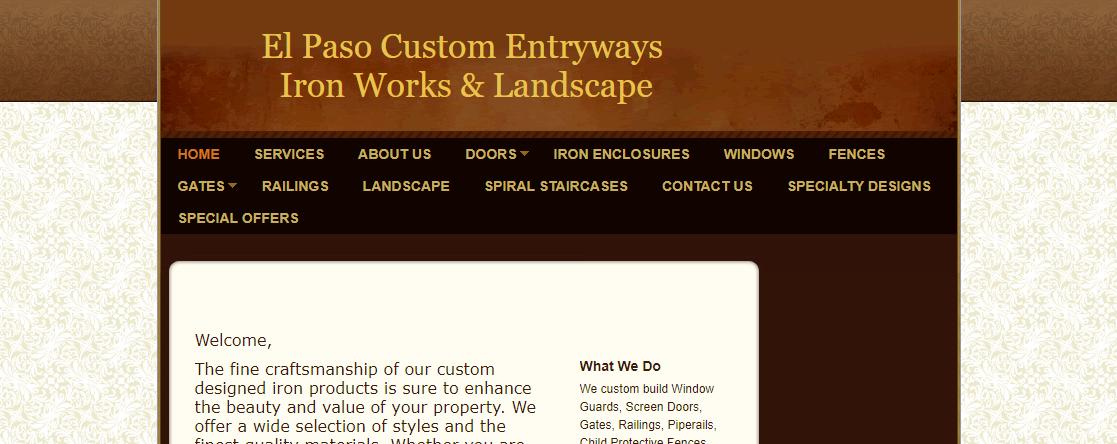 El Paso Custom Iron Works
