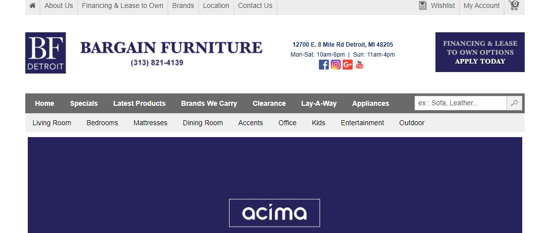 Bargain Furniture