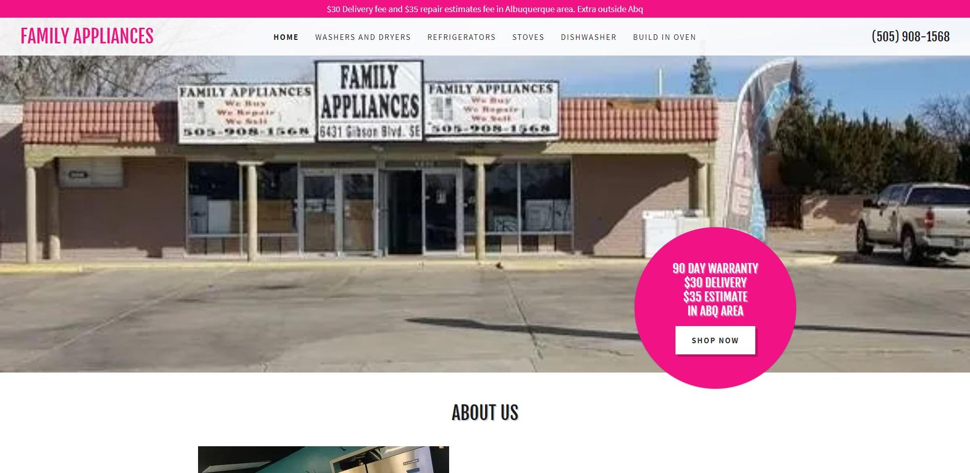 Albuquerque, NM Best Whitegoods Stores