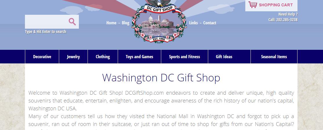 Washington DC Gift Shop