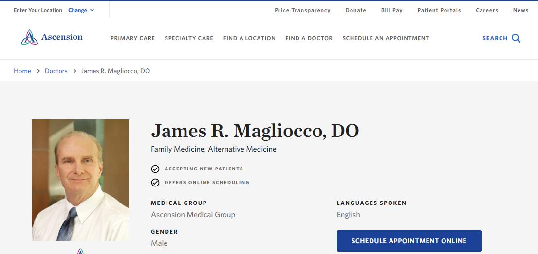 James R. Magliocco, DO