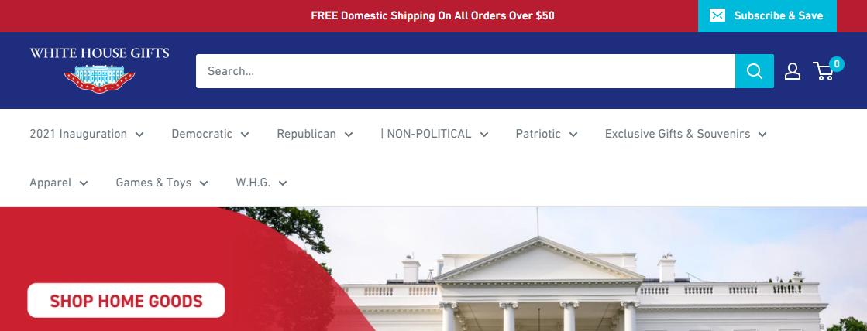White House GiftsGift Shops in Washington, DC