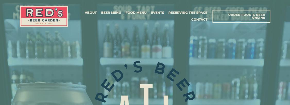 Red's Beer Garden- German Restaurants in AtlantaBest German Restaurants