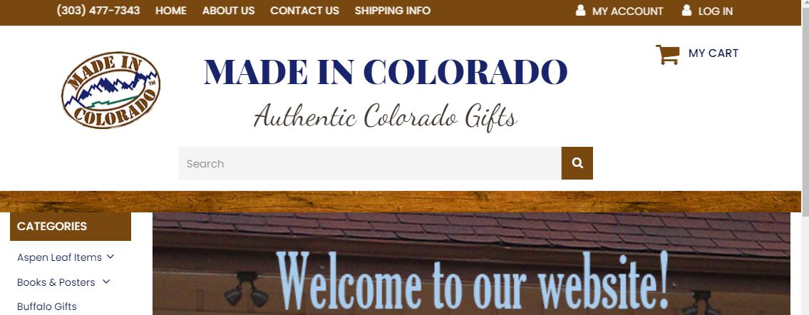Made in Colorado Gift Shop