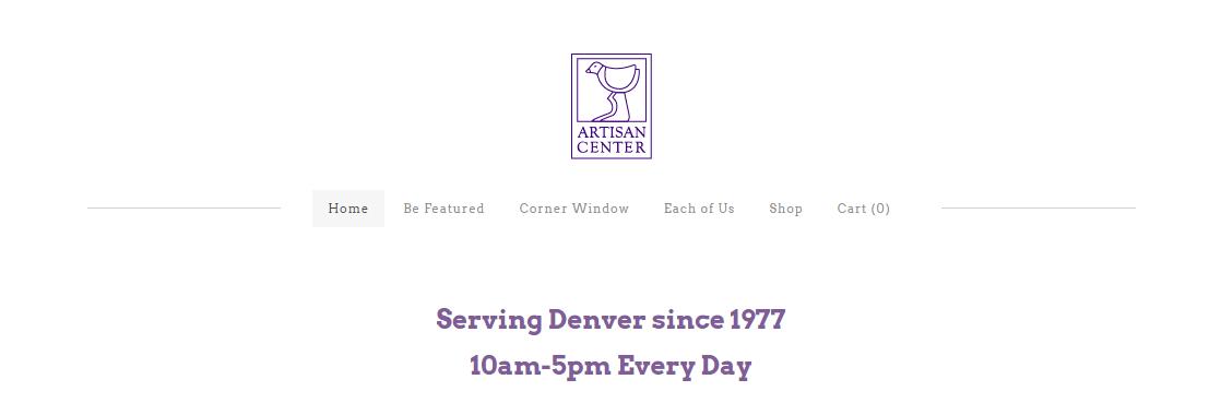 Artisan Center Gift Shop