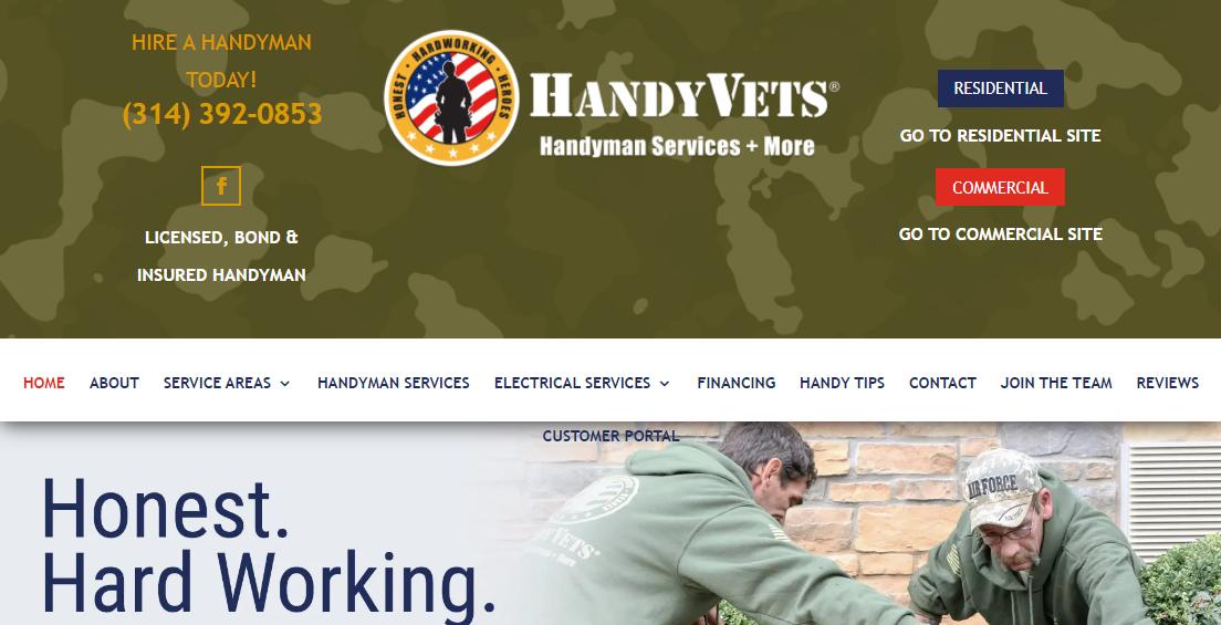 HandyVets Handyman in St. Louis, MO