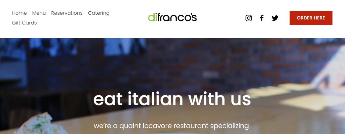 DiFranco's Italian Restaurants in Denver, CO