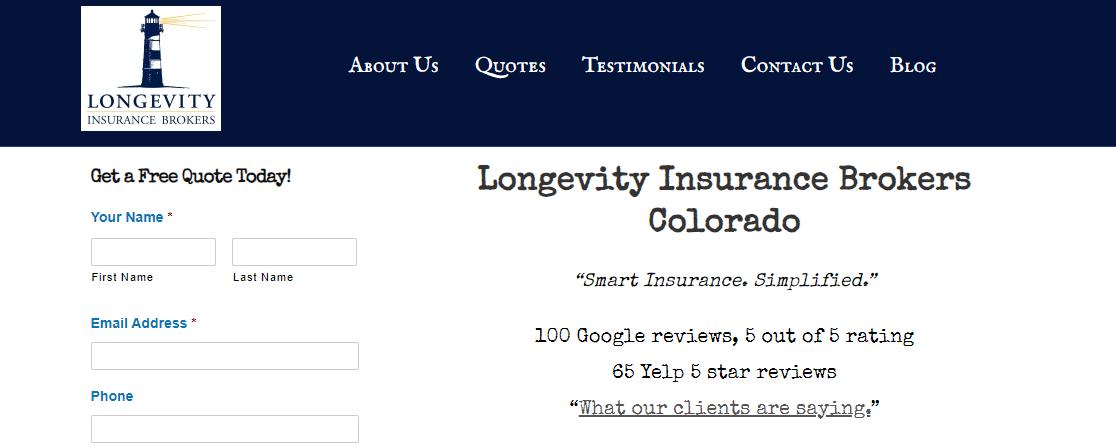 Longevity Insurance Brokers