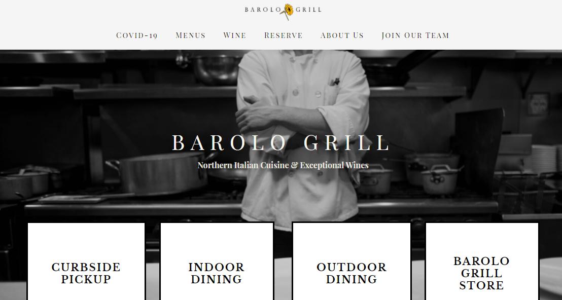 Barolo Grill Italian Restaurant in Denver, CO