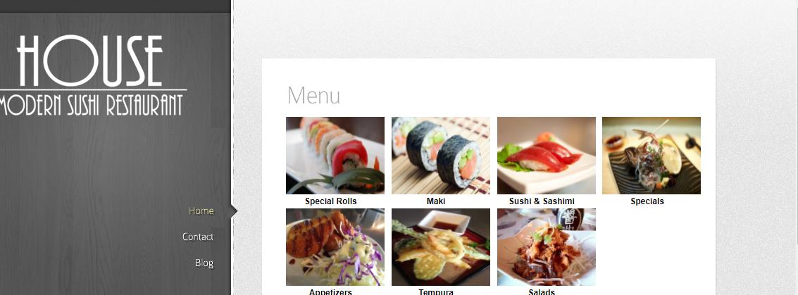 House Modern Sushi Restaurant