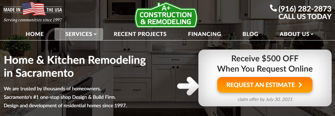 A+ Construction and Remodeling