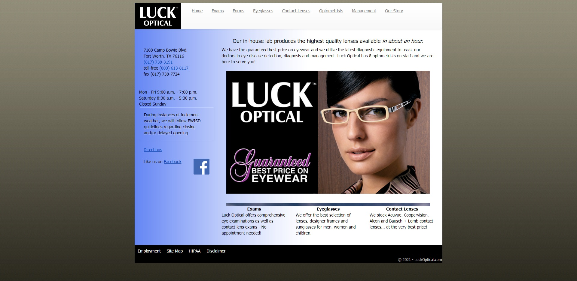 The Best Opticians in Fort Worth, TX