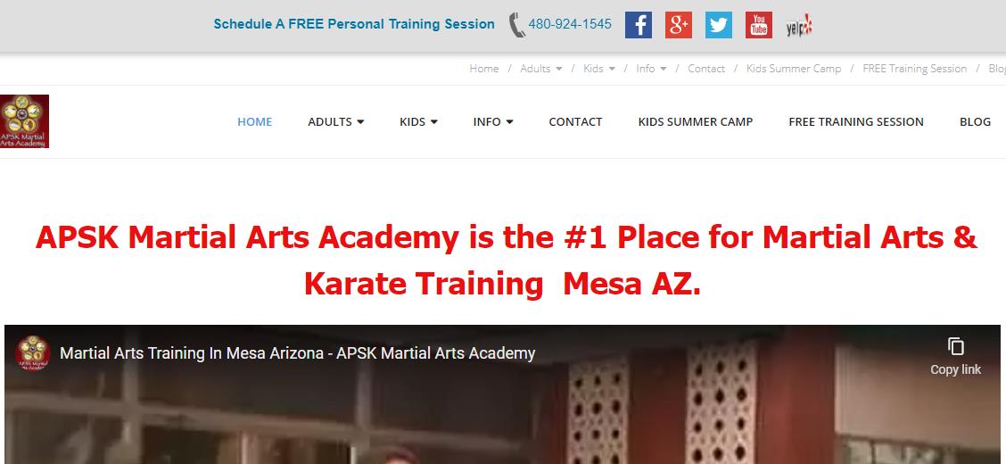 APSK Martial Arts Academy