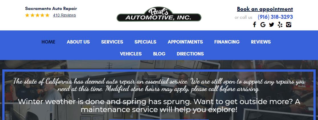 Pal's Automotive, Inc.