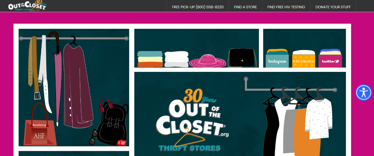 Out of the Closet - Columbus