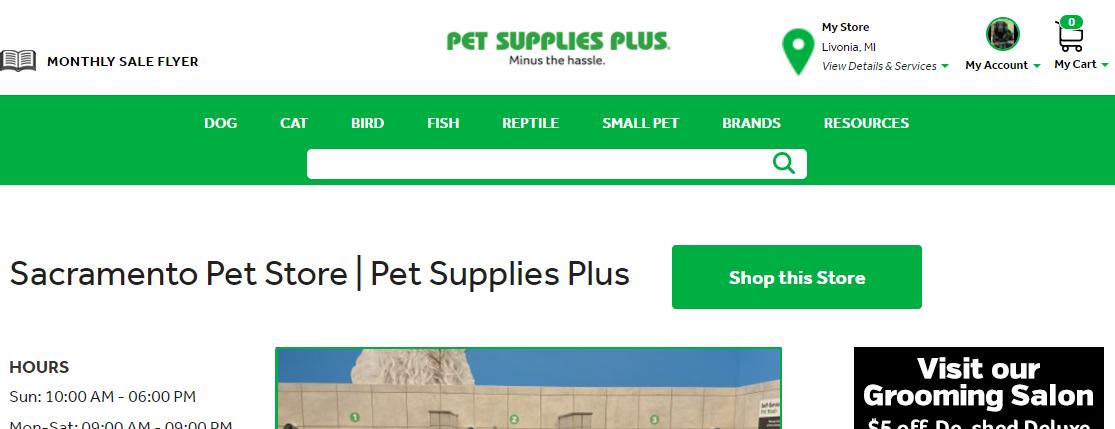 Pet Supplies Plus Sacramento