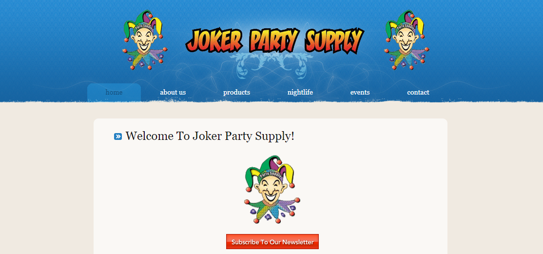 Joker Party Supply Inc.