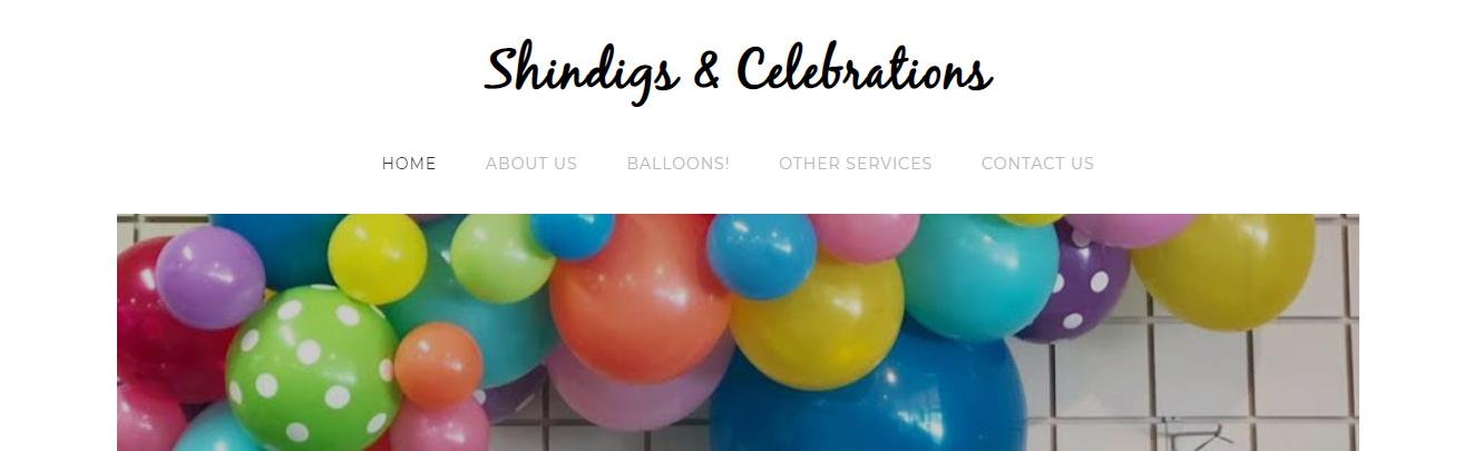 Shindigs and Celebrations