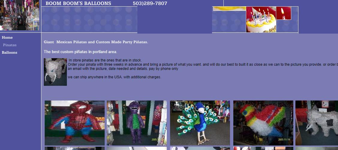 Boom Boom's Balloons