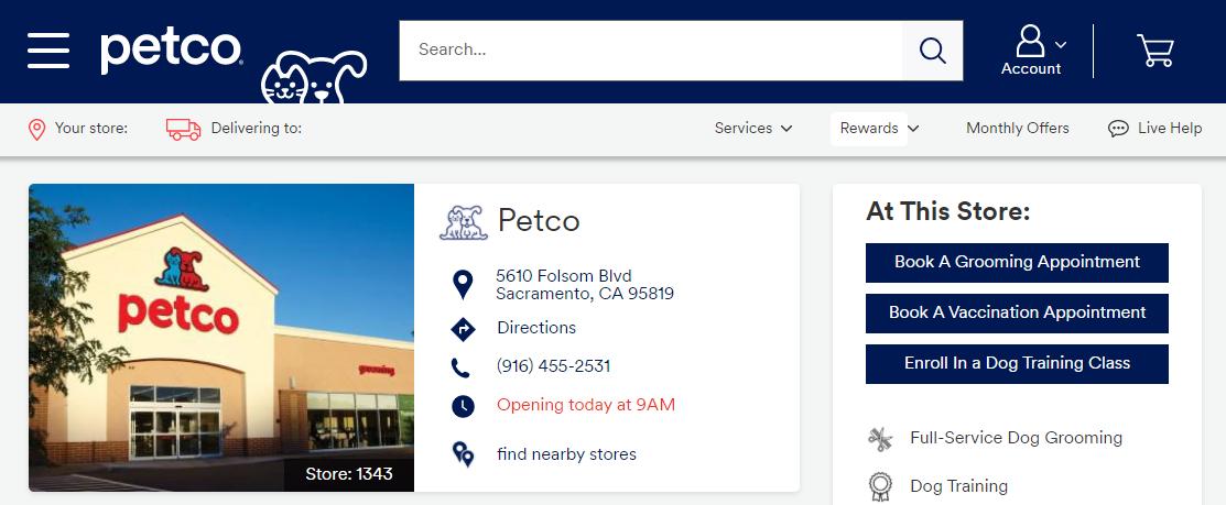 Petco Pet Shop