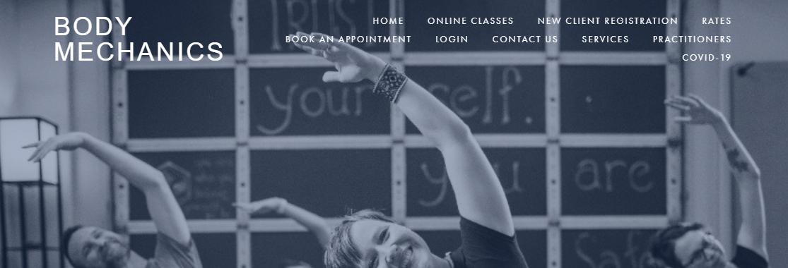 Body Mechanics Pilates and Bodywork